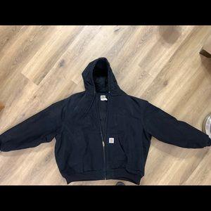 Men's Black Size 4X Carhartt Jacket/Coat